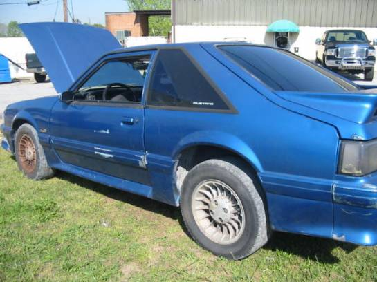 1990 Ford Mustang 5.0 5-Speed - Blue - Image 1