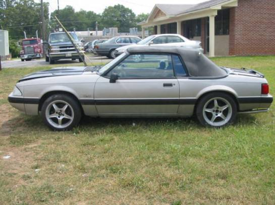 1990 Ford Mustang 5.0 Auto - Silver - Image 1