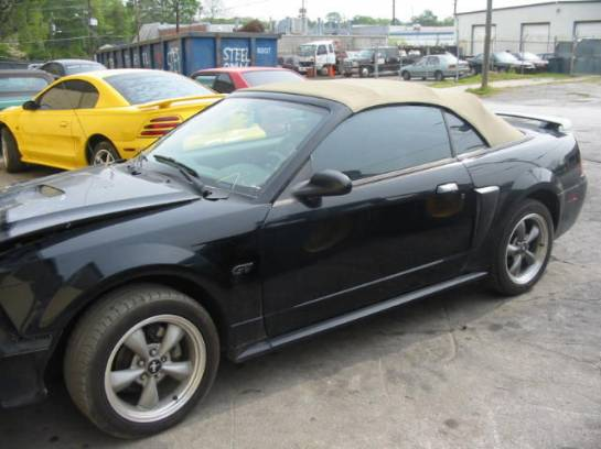 2002 Ford Mustang 4.6L SOHC Automatic- Black - Image 1