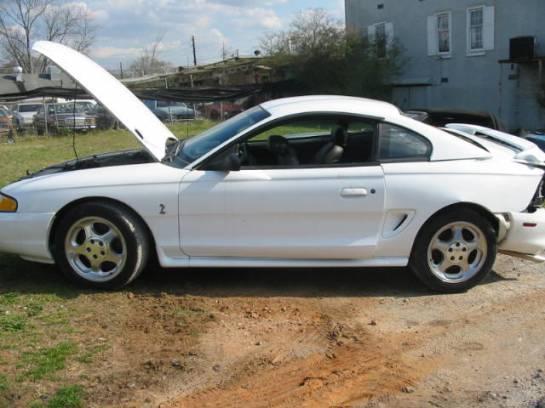 1995 Ford Mustang 5.0 Cobra Cobra T-5 - White - Image 1