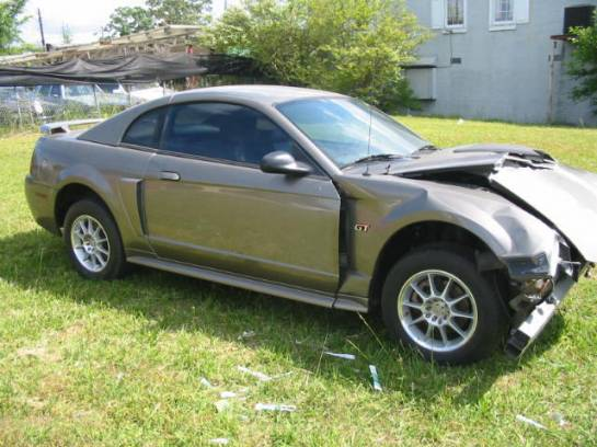 2002 Ford Mustang 4.6 2V 5-Speed Tremec 3650- Mineral Gray - Image 1