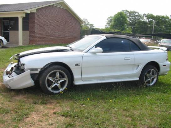 1995 Ford Mustang 5.0 HO 5-Speed T-5 - White - Image 1