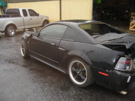 2002 Ford Mustang 4.6 T-3650- Black - Image 1