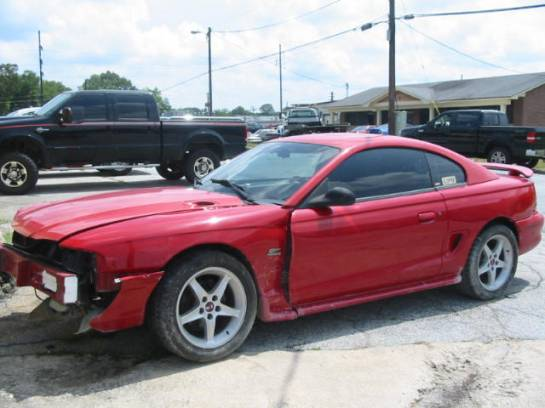 1995 Ford Mustang 5.0 5-Speed - Red - Image 1