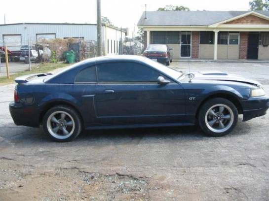 2002 Ford Mustang 4.6 AODE Automatic- Blue - Image 1