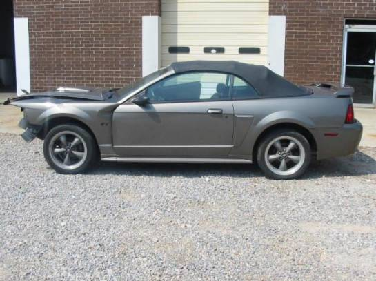 2002 Ford Mustang 4.6L Automatic- GRAY - Image 1