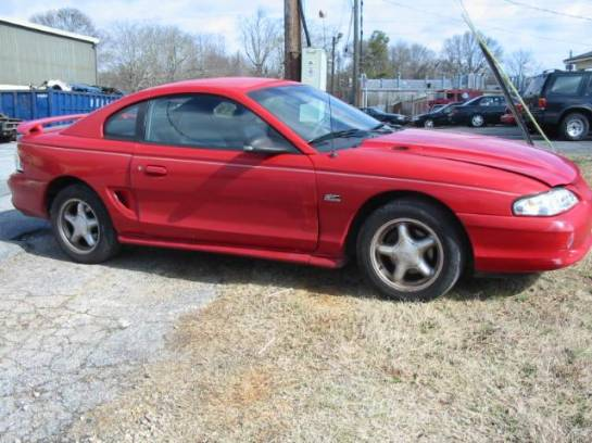1995 Ford Mustang 5.0 Automatic AOD-E - Red - Image 1