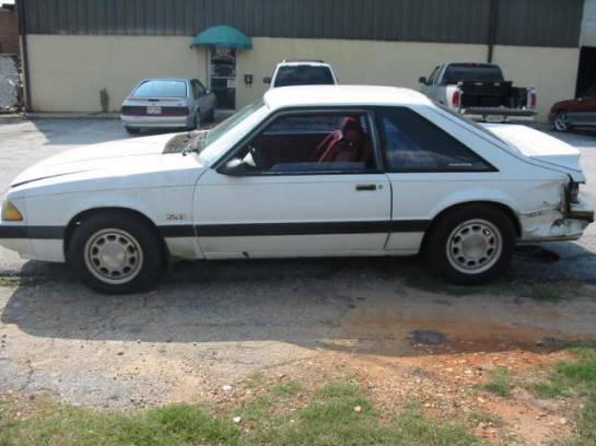 1990 Ford Mustang 5.0 T-5 5 Speed - White - Image 1
