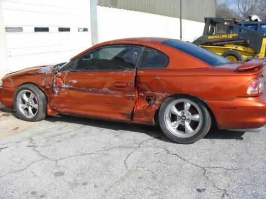 1995 Ford Mustang 5.0 5-Speed T-5 - Orange - Image 1