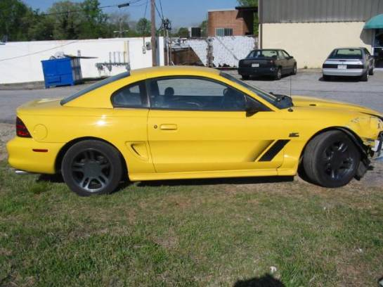 1995 Ford Mustang 5.0 T-5 Five Speed - Yellow - Image 1