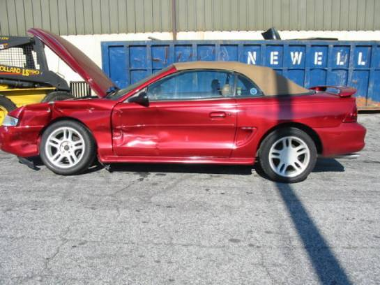 1995 Ford Mustang 5.0 T-5 - Red - Image 1
