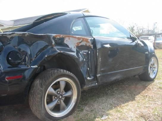 2003 Ford Mustang 4.6L SOHC 3650- Black - Image 1