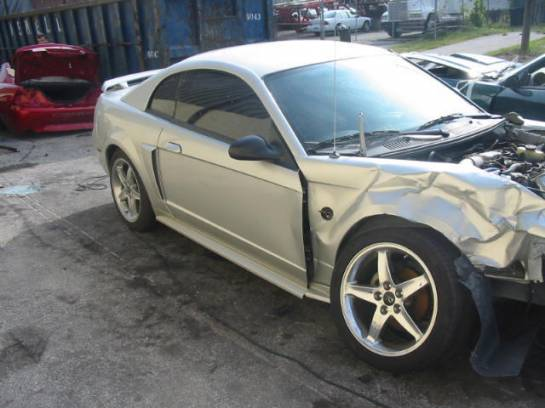 2003 Ford Mustang 4.6L SOHC 3650- Silver - Image 1