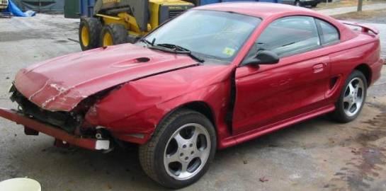 1996 Ford Mustang 4.6 4V Cobra 5 spd T-45 - Red - Image 1