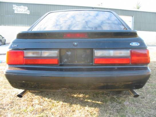 1991 Ford Mustang 5.0 HO Automatic - Black - Image 1