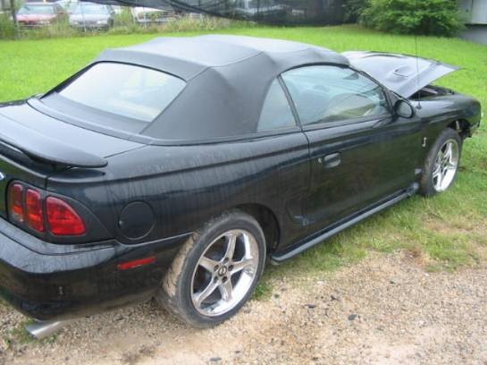 1996 Ford Mustang 4.6L DOHC T-45 - Black - Image 1