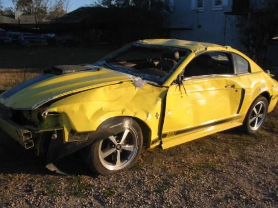 2003 Ford Mustang 4.6 4V Cobra Tremec 3650 5-Speed- Yellow - Image 1