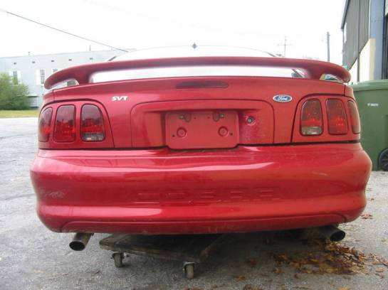 1996 Ford Mustang 4.6L DOHC T-45 - Red - Image 1