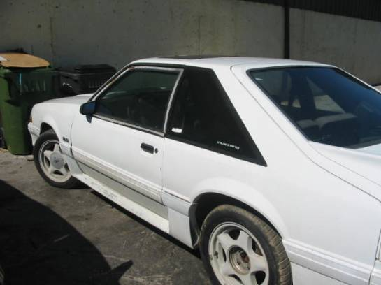 1991 Ford Mustang 5.0 HO 5-Speed T-5 - White - Image 1