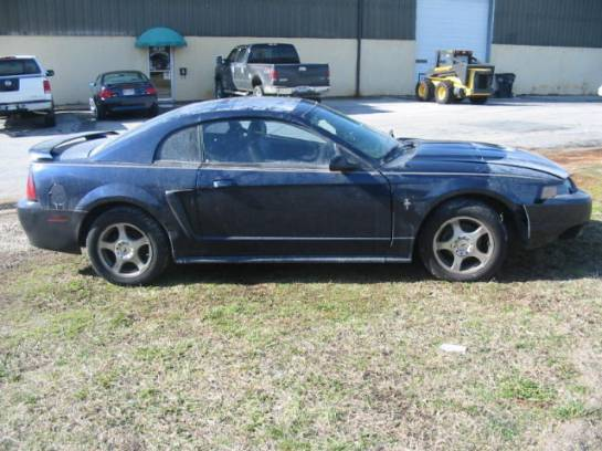 2003  Ford Mustang 4.6 5 speed T-3650- Mineral Grey - Image 1
