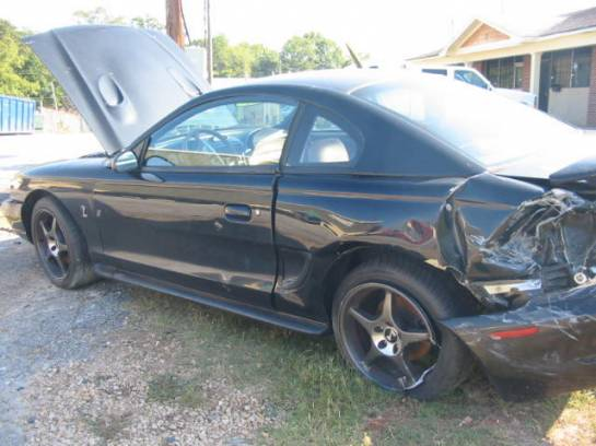 1996 Ford Mustang 4.6 L DOHC T-45 - Black - Image 1