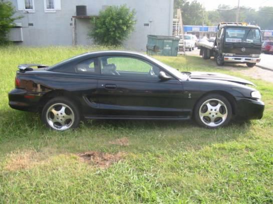 1996 Ford Mustang 4.6 4V T-45 - Black - Image 1