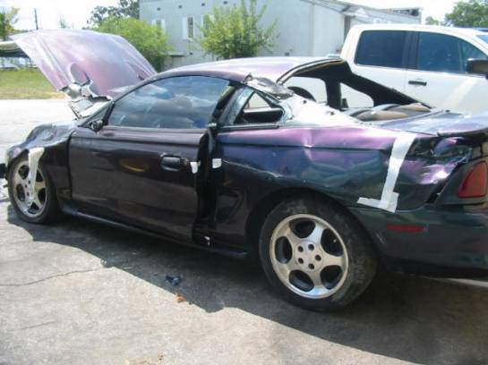 1996 Ford Mustang 4V T-45 - MYSTIC! - Image 1