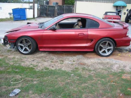 1996 Ford Mustang Cobra 4.6 4V T-45 Five Speed - Red - Image 1