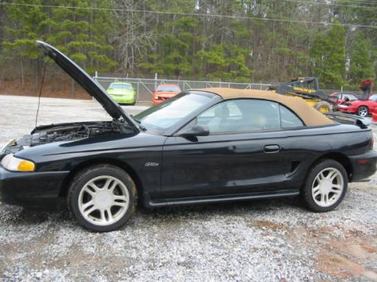 1996 Ford Mustang 4.6 AOD-E Automatic - Black - Image 1