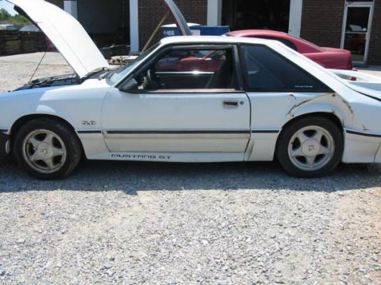 1991 Ford Mustang 5.0 HO T-5 Five Speed - White - Image 1