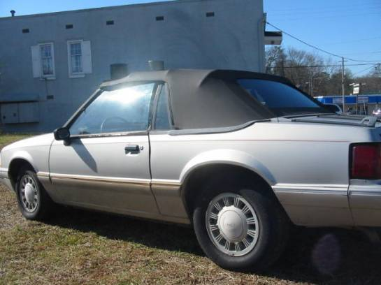 1992 Ford Mustang 4 cyl. Automatic - Silver - Image 1