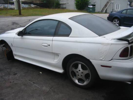 1997 Ford Mustang 4.6L DOHC T-45 - White - Image 1