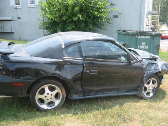 1997 Ford Mustang 4.6L DOHC T-45 - Black - Image 1