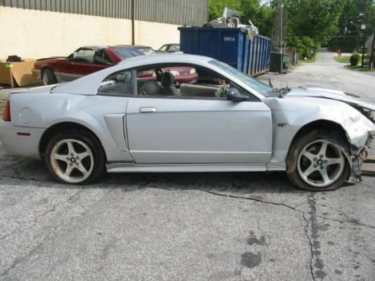 2003 Ford Mustang 4.6 T-3650- Silver - Image 1