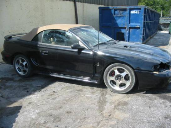 1997 Ford Mustang 4.6 4V 5 Speed T-45 - Black - Image 1