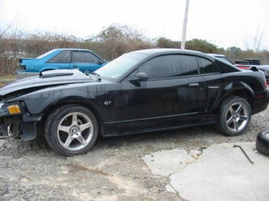 2003 Ford Mustang 4.6 T-45 Five Speed- Black - Image 1