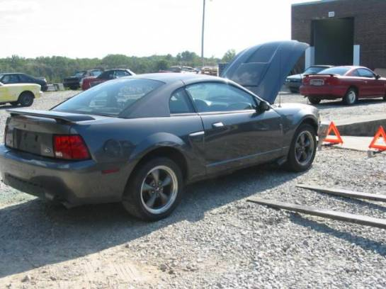 2003 Ford Mustang 4.6L Automatic- GRAY - Image 1