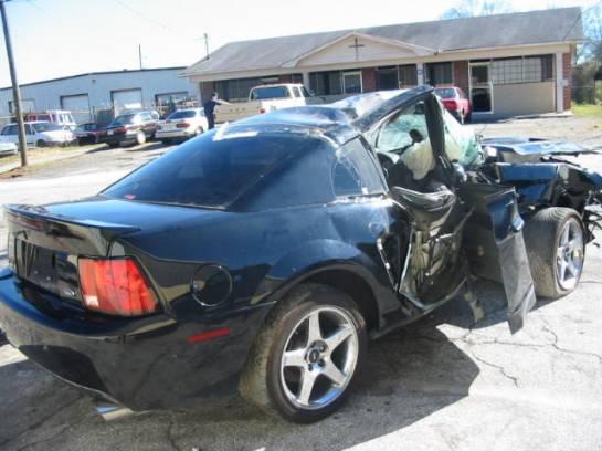2004 Ford Mustang 4.6 4V Cobra 6 Speed- black - Image 1