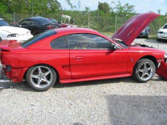 1997 Ford Mustang 4.6 4V Cobra T-45 Five Speed - Red - Image 1