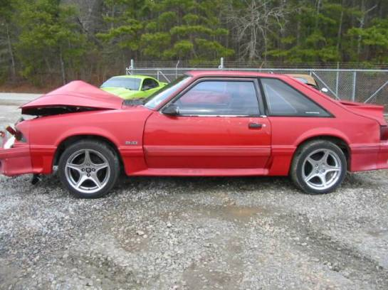 1992 Ford Mustang 5.0 HO T-5 Five Speed - Red - Image 1