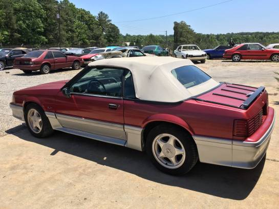 FOR SALE! BEAUTIFUL! 1993 Ford Mustang GT Convertible