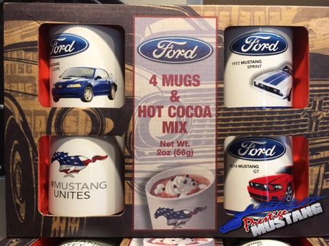 Ford Mustang Mug & Cocoa Set