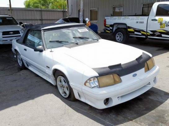 1987 Ford Mustang GT Convertible 5.0 T5 - Image 1