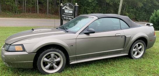 2002 Ford Mustang GT Convertible - Image 1