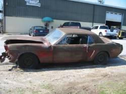 Parts Cars - 1964 Mustang D Code 289 4V