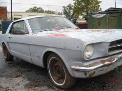 Parts Cars - 1965 Ford Mustang 93 GT 5.0 302 - Gray