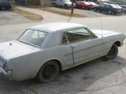 1964-1973 - Parts Cars - 1965 Ford Mustang Inline 6 - Primer