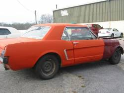 1965 Ford Mustang 200 6cyl - Orange