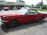 1965 Ford Mustang 6-Cyl - Red