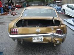 1966 Mustang Parts >> Parts Cars